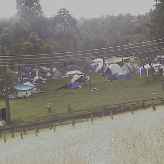 Psicodália 2012 - Paz no camping