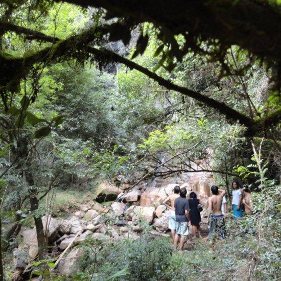 Psicodália 2012 - Chegando na cachoeira