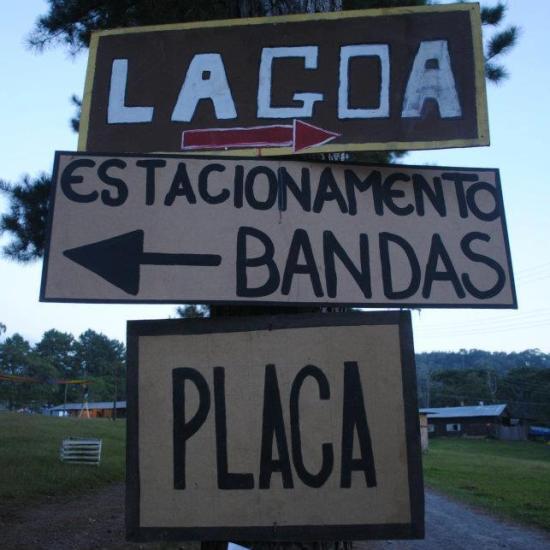 Psicodália 2012 - Placas de localização