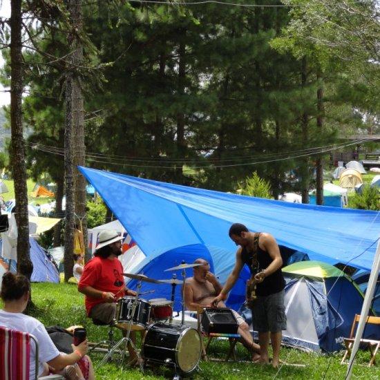 Psicodália 2012 - Som no camping