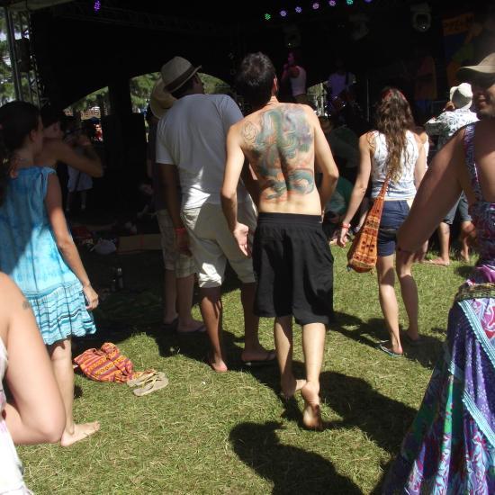 Psicodália 2012 - Tatuagem de Dragão