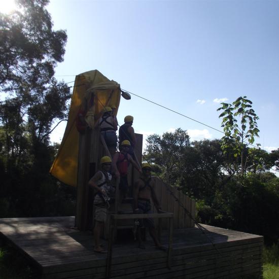 Psicodália 2012 - Saída da tirolesa