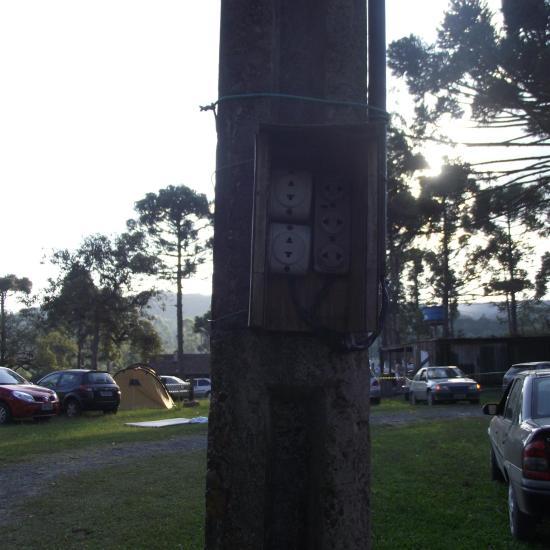 Psicodália 2012 - Energia Elétrica em todos os postes