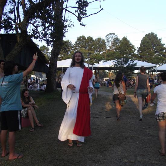 Psicodália 2012 - Jesus veio ao festival
