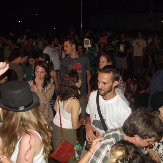 Psicodália 2012 - Pessoal no show de sabado