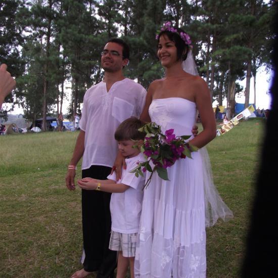 Psicodália 2012 - Casamento no Psicodália é lindo
