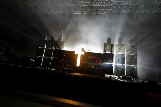 Justice - sónar são paulo 2012