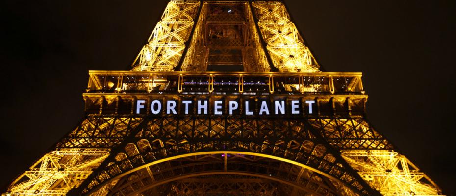 Torre Eifell #ForThePlanet