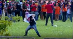 Vândalos encapuzados em protesto podem ser enquadrados no crime de terrorismo