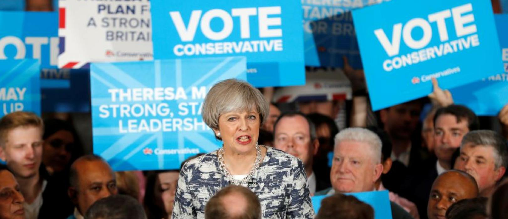 Eleições 2017 no Reino Unido
